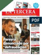 Diario La Tercera 31.10.2014
