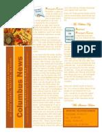 November 2014 Columbus Elementary Newsletter