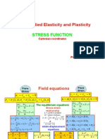 ME-603 AEP Stress Function