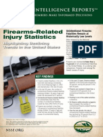 Firearms Related Injury Statistics Report 2014