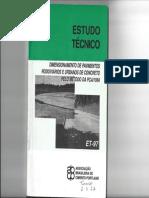 ET-97 - Pavimentos de Concreto - PCA-1984