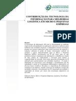 Contribuição da Tecnologia da informação para melhorias logística em micro e pequenas empresas.pdf