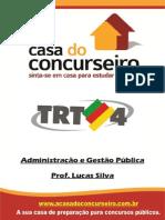 REV Apostila TRT4.2014 AdministraçãoGestãoPública LucasSilva1