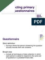 8 Questionnaire