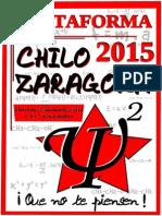 Plataforma Chilo 2015