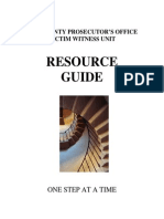 Victim Witness Resource Guide