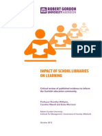 SLIC RGU Impact of School Libraries 2013 (1)