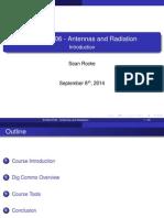 Antenna and Radiation