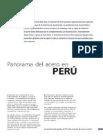 7 Panorama Del Acero en Perú