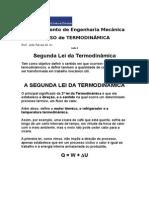 Aula 6 - 2ª Lei da Termodinâmica.doc