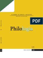 Revista Philologia, nr. 3-4,2010