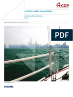 CDP US Water Report 2013