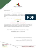 LES TRANCHES DE VIE Concours Photo 2014 - Invitation Remise de Prix
