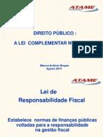 Material Lei de Responsabilidade Fiscal