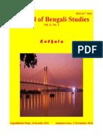 Journal of Bengali Studies Vol.3 No.2
