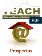 HomeSchooling Sectanti TEACHprospectus