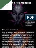 ASP 2015 - CFO I - Filosofia - Trabalho - 20140606 - Filosofia Pós-Moderna (20140624)