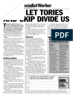 Dont Let Tories and Ukip Divide Us