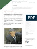 DEVELANDO LA VERDAD_ El Lobby Judío Da Sus Órdenes a Obama