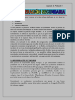 Recuperación Secundaria Info