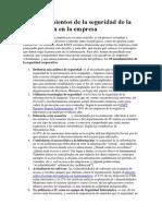 10 Mandamientos de La Seguridad de La Información en La Empresa