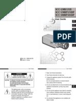 Manual Camara de Vigilancia. - SAMSUNG SCC 131A