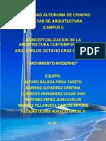 Movimiento Moderno en La Arquitectura