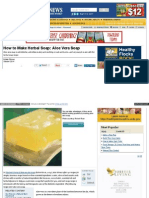 Www Motherearthnews Com Natural Health Aloe Vera Soap Ze0z14