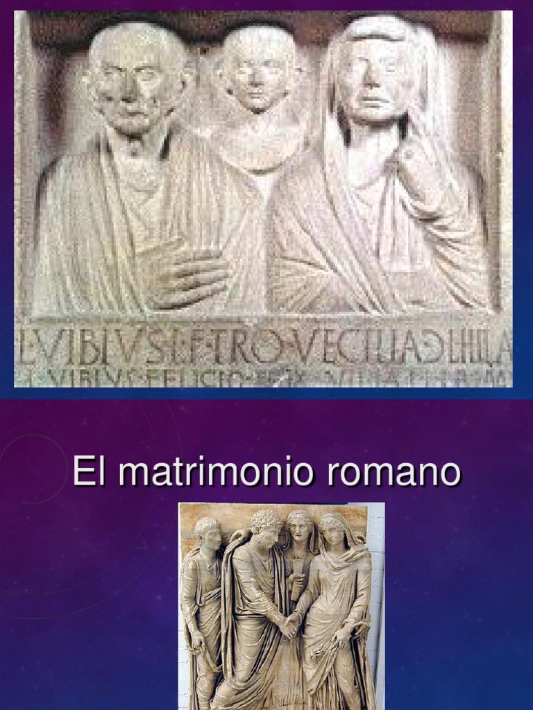Matrimonio Romano Iustae Nuptiae : Matrimonio rcv