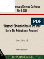 RESERVES Simulacion