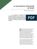 El Nacionalismo Historicista en Brasil,  Arte