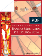 Bando Municipal 2014