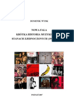 Nowa Fala. Krótka historia muzyki punk w Stanach Zjednoczonych (1965-1985).