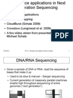 Mapreduce DNA Sequencing
