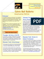 The Calvin Ball Bulletin, Construction Edition November 2014