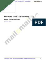 Derecho Civil Guatemala 1