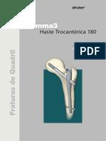 Gamma 3 Haste Trocantérica 180
