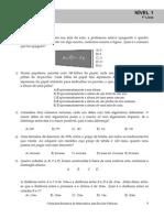 Listas 1 a 6 _ Nível 1(Com Soluções)