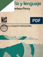 Filosofía y Lenguaje Maurice Merleu-Ponti