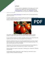 Home Remedies Using Tomato Prophet666