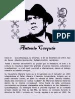 Antonio Casquín - 31 de octubre gran fiesta de la rebeldía