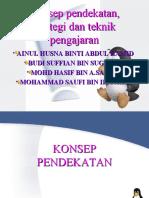 PP Konsep-pendekatan Mengajar BM