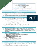 accademic resume last version