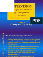 Concepts of Organizing