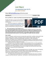 Pa Environment Digest Nov. 3, 2014