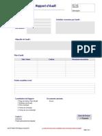 Rapport Audit (Formulaire)