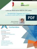 cicloamdiaomlatamtendenciasdigitaleslatamcomscorefeb2014-140212134322-phpapp02