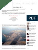 Top 25 Destinos Turísticos Para Viajar en 2014
