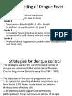 WHO Grading of Dengue Fever