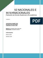Normas Nacionales e Internacionales